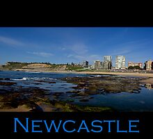 The Start Of A New Day - Newcastle Beach by reflector