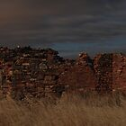 Burra ruins at night by sedge808