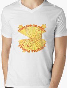 Skee Ball Hatin Mens V-Neck T-Shirt