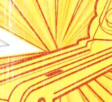 Skee Ball Hatin Sticker