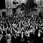 The Shining Overlook Hotel July 4th Ball Black and white by PrettyStuff