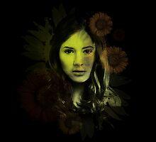 Splatter Amy Pond by Redtide