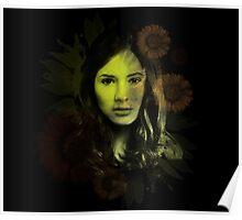 Splatter Amy Pond Poster