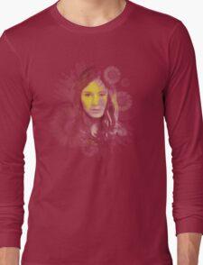 Splatter Amy Pond Long Sleeve T-Shirt