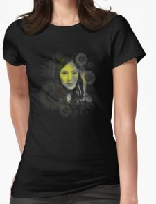 Splatter Amy Pond Womens Fitted T-Shirt