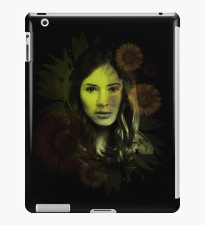 Splatter Amy Pond iPad Case/Skin