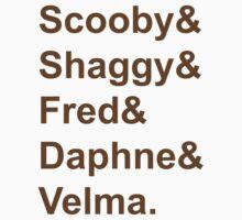 Scooby Doo by Celeste Yim