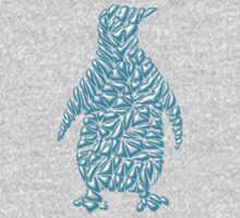 Ice Penguin  One Piece - Long Sleeve