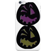 Colored pumpkin iPhone Case/Skin