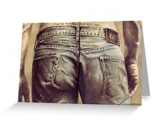 I hope my bum doesn't look big in these... Greeting Card
