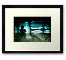 Projecting the Search for Intensity Framed Print