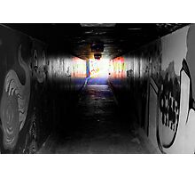 Urban underpass Photographic Print