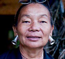 Thai Tribeswoman by phil decocco