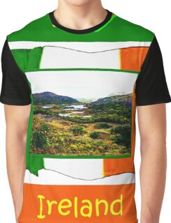 jGibney I Love Ireland 1999 Kerry Lake District Kerry Ireland Flag T-Shirt wb The MUSEUM Red Bubble Gifts Graphic T-Shirt