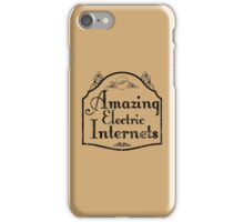 The Amazing Electric Internets iPhone Case/Skin