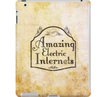 The Amazing Electric Internets iPad Case/Skin