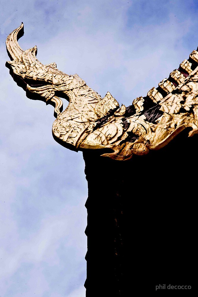 Dragon Finial by phil decocco