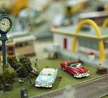Miniature Town Scene by James2001