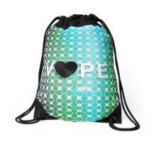 Vape Heart Retro Pattern  Drawstring Bag