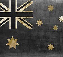 Australian Flag Fashion Glamour  by mindydidit