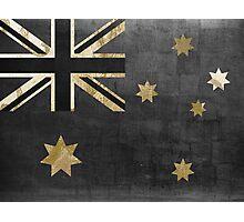 Australian Flag Fashion Glamour  Photographic Print