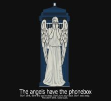 weeping angels and phonebox by aidahasfiza