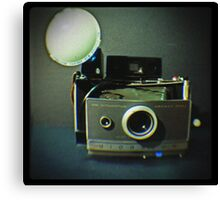 Vintage Polaroid 100 Canvas Print