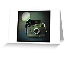 Vintage Polaroid 100 Greeting Card
