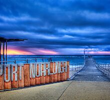 Port Noarlunga Storm by Darryl Leach