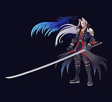 SEPHIROTH! Hardest guy to beat.... EVER!!! by MissPyropixie