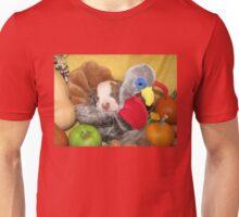 Uno Asleep With The Turkey Unisex T-Shirt