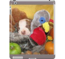 Uno Asleep With The Turkey iPad Case/Skin