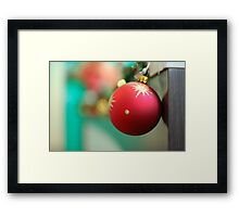 Christmas Time Framed Print