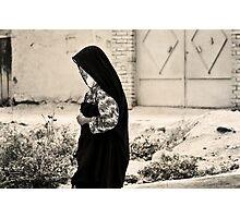 Walking Down The Village Lane Photographic Print