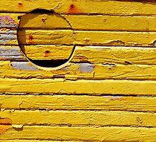 Sète - Yellow Boat. by Jean-Luc Rollier