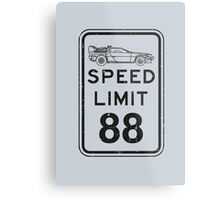 Speed limit Metal Print