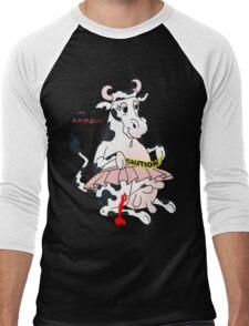 crazy cow Men's Baseball ¾ T-Shirt