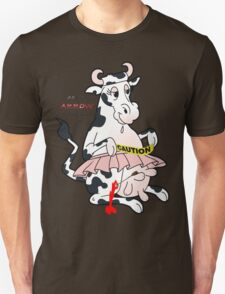 crazy cow Unisex T-Shirt