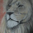 Tinted Charcoal Lion by gogston