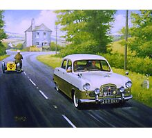 Ford Zephyr near Marldon Road tollhouse. Photographic Print