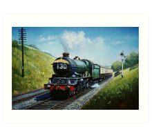 Cornish Riviera express Art Print