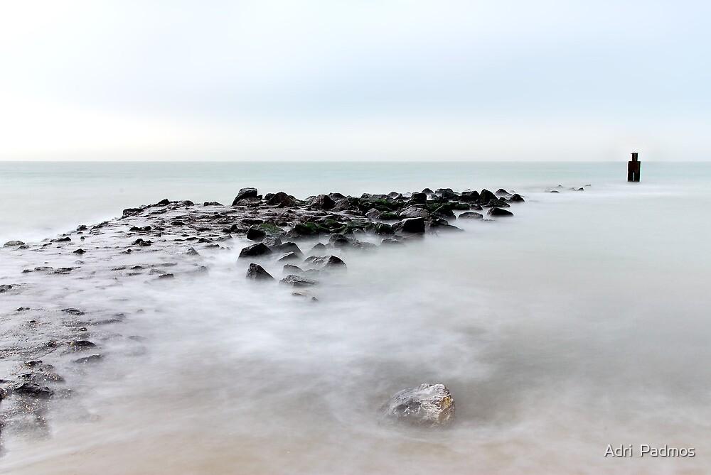 The breakwater... by Adri  Padmos