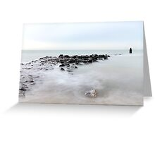 The breakwater... Greeting Card