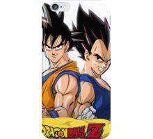 Goku and Vegeta iPhone Case/Skin