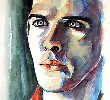 Colin Morgan, featured in Painters Universe by Françoise  Dugourd-Caput