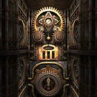 Infernal Steampunk Machine #4 phone cases by Steve Crompton