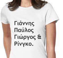 GRΣΣK Beatles Womens Fitted T-Shirt
