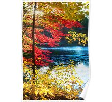 The Glory of a New England Autumn Poster
