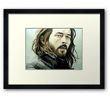 Tom Mison as Ichabod Crane Framed Print