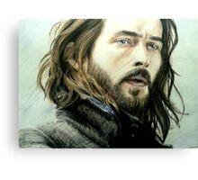 Tom Mison as Ichabod Crane Canvas Print